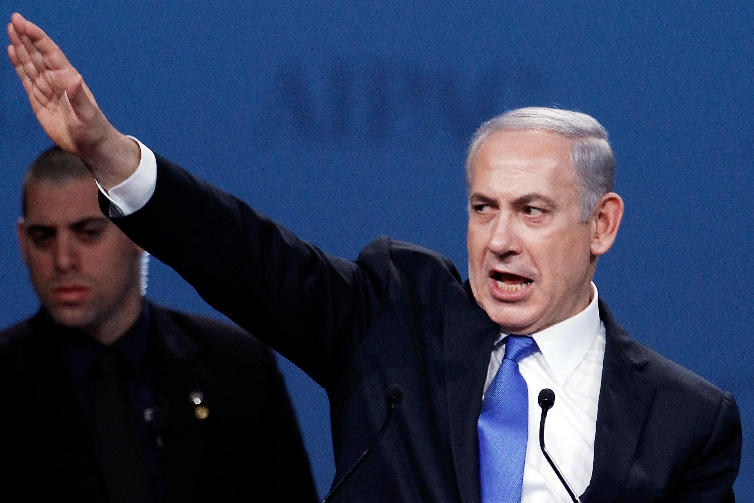 Bildergebnis für Netanjahu